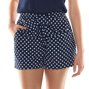 lc lauren conrad disney Minnie Mouse shorts Small